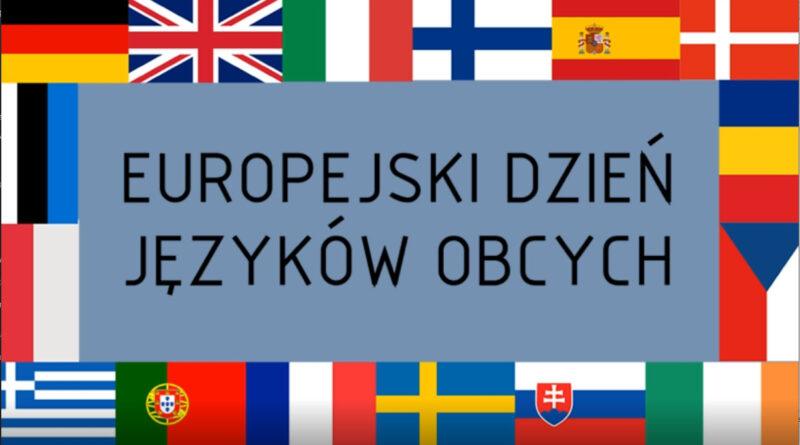 EUROPEJSKI DZIEŃ JĘZYKÓW OBCYCH 2021