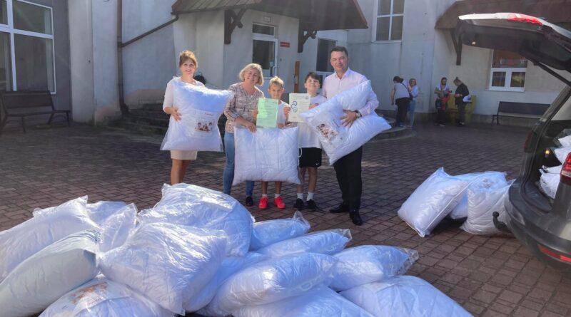"""Akcja charytatywna """"Poduszka dla szpitalnego łóżka""""zakończona !!!"""